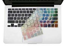 Mosiso Keyboard Cover with Hollow Texture for MacBook Pro 13