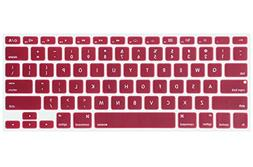 MOSISO Silicone Keyboard Cover Compatible MacBook Pro 13/15