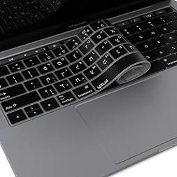 Kuzy - Hebrew Keyboard Cover for New MacBook Pro with Touch