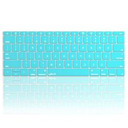 Kuzy - TEAL HOT BLUE Keyboard Cover for MacBook Pro 13 inch