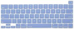 MOSISO Keyboard Cover Compatible with 2020 MacBook Pro 16 in