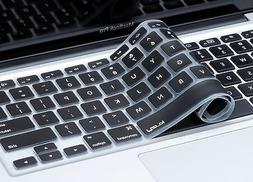 """Kuzy - Keyboard Cover for MacBook Pro 13"""" 15"""" Silicone Skin"""