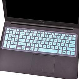 """FORITO Keyboard Cover Compatible 15.6"""" Dell Inspiron 15 Seri"""