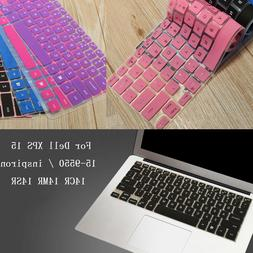 Keyboard Cover Protector For 15.6'' Dell XPS 15 15-9550 / in