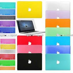 Keyboard Cover+Screen Protector+Hard Shell Case for Apple Ma