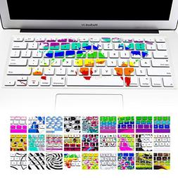 Keyboard Cover Silicone Skin for Macbook Pro 13 with or with