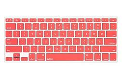 Kuzy Neon ORANGE Keyboard Cover Silicone Skin for MacBook Pr