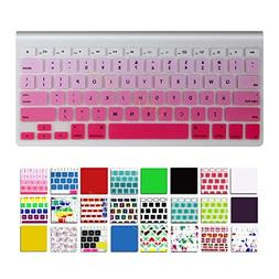DHZ Keyboard Cover Silicone Skin for MacBook Air 13 and MacB