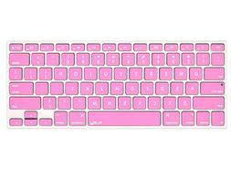 Kuzy - ROSE PINK Keyboard Cover Silicone Skin for MacBook Pr