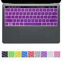 DHZ Keyboard Cover Silicone Skin for Apple 2016 New MacBook
