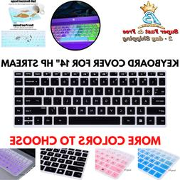 """Keyboard Cover Silicone Skin Keys Protection For 14"""" HP Stre"""