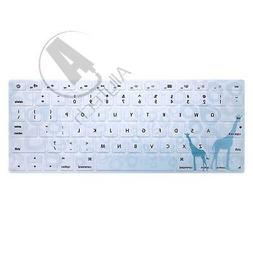 Allytech - Keyboard Cover Silicone Skin Protector for MacBoo