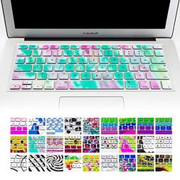 "Allytech Keyboard Cover Silicone Skin for MacBook Pro 13"" 15"