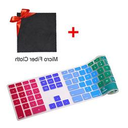 Keyboard Cover Skin for Apple iMac Wired Keyboard with Numer
