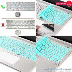 "Keyboard Cover Skin For 15.6"" HP Pavilion X360 15 BR075NR EN"