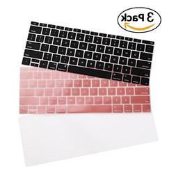 iCasso 3 Pack Keyboard Cover Ultra Thin Silicone Skin