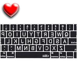 "Keyboard Cover for Macbook Pro Air and iMac 13"" 13 15, and 1"