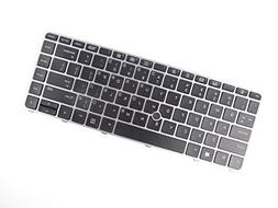 Keyboard for HP EliteBook 840 G3 US Backlit with Mouse Point