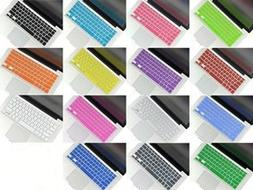Inovat Pack of 15 Colors Keyboard Silicone Cover Skin for Ma
