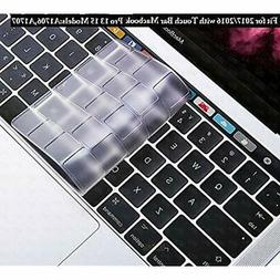 DHZ Keyboard Skins Ultra Thin Transparent Cover For MacBook