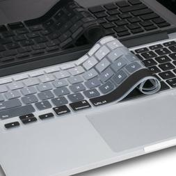 Kuzy - Keyboard Cover for MacBook Pro 13 15 Silicone Air 13.