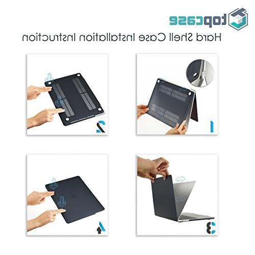 TOP in 1 Rubberized Case Gen. with Display A1425 & A1502 and Keyboard Blue