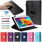 "For 10""10.1"" inch Tablet Bluetooth Keyboard 360 Rotating Uni"