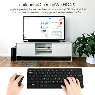 2.4Ghz Wireless Mouse Combo USB Adapter