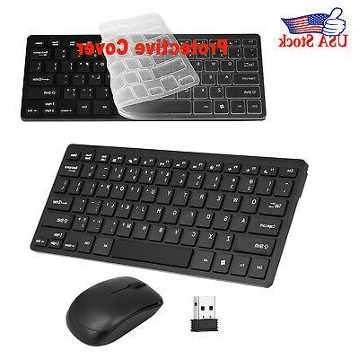 2 4ghz wireless keyboard mouse combo