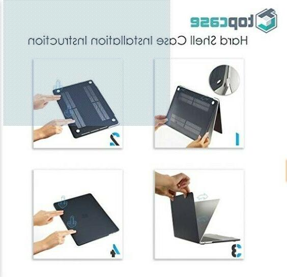 TOP CASE 2 in Hard + Keyboard Cover