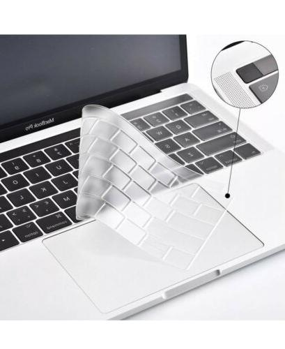 "2 Pack Silicone Cover Macbook 13"" 15"" 17"""