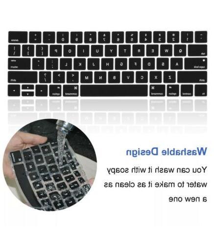 "2 Keyboard Cover Macbook 15"""