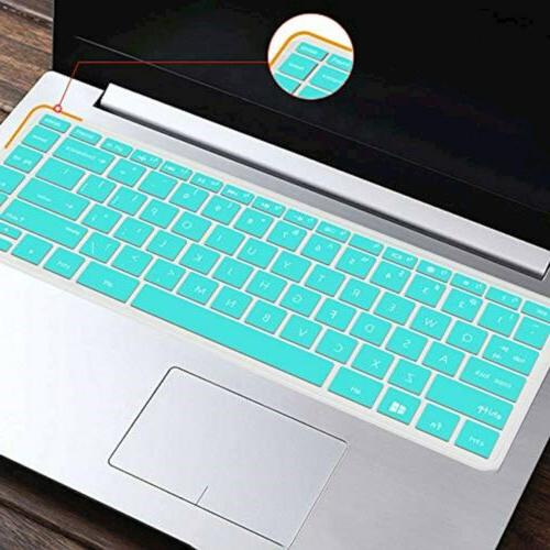 Lapogy Silicone Keyboard Cover Skin 2019 HP 14 inch