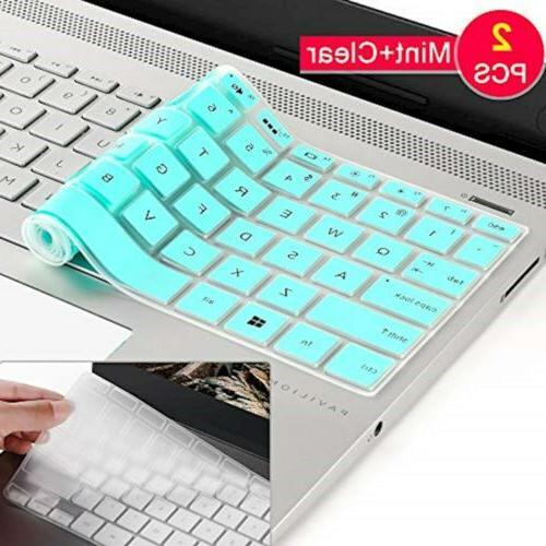 2 pcs silicone keyboard cover skin