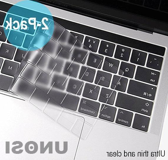 Waterproof Clear Keyboard Cover Skin 2016-2019 Apple Macbook