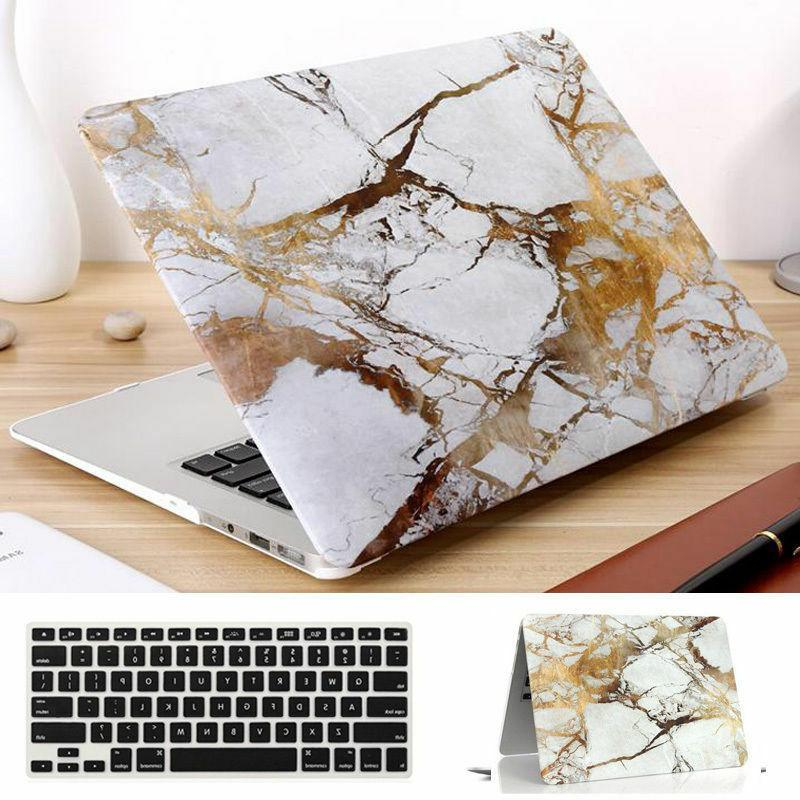 6-Color Marble Matte Case+Keyboard Cover MacBook Air Pro