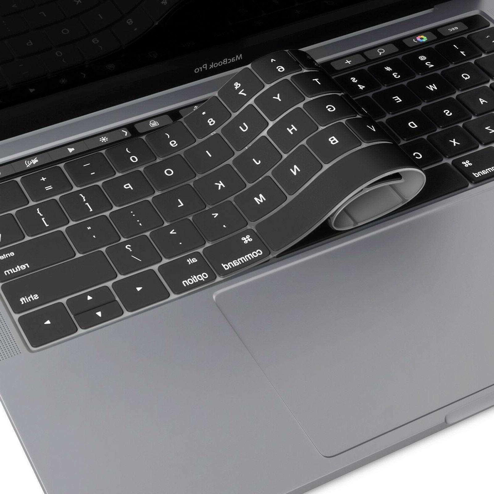 Keyboard Cover Skin for Macbook Air Pro 11 12 13 15 TouchBar