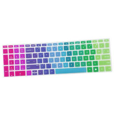 """Soft Laptop Keyboard Protective Cover Skin for HP 15.6"""" BF C"""