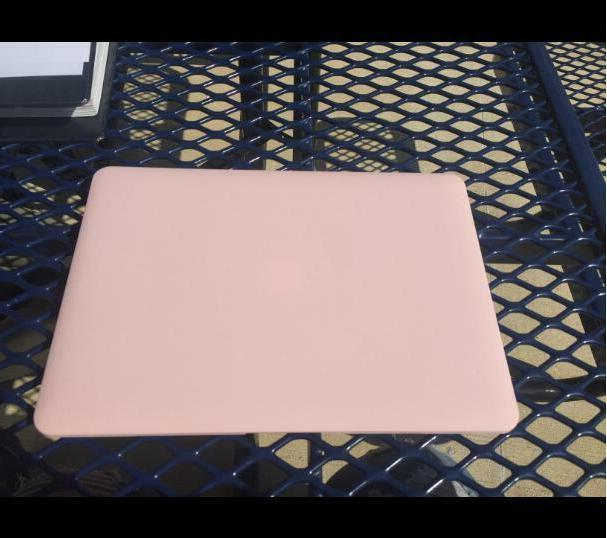 Mosiso Pink Hard Case for 13 A1466/A1369 cover