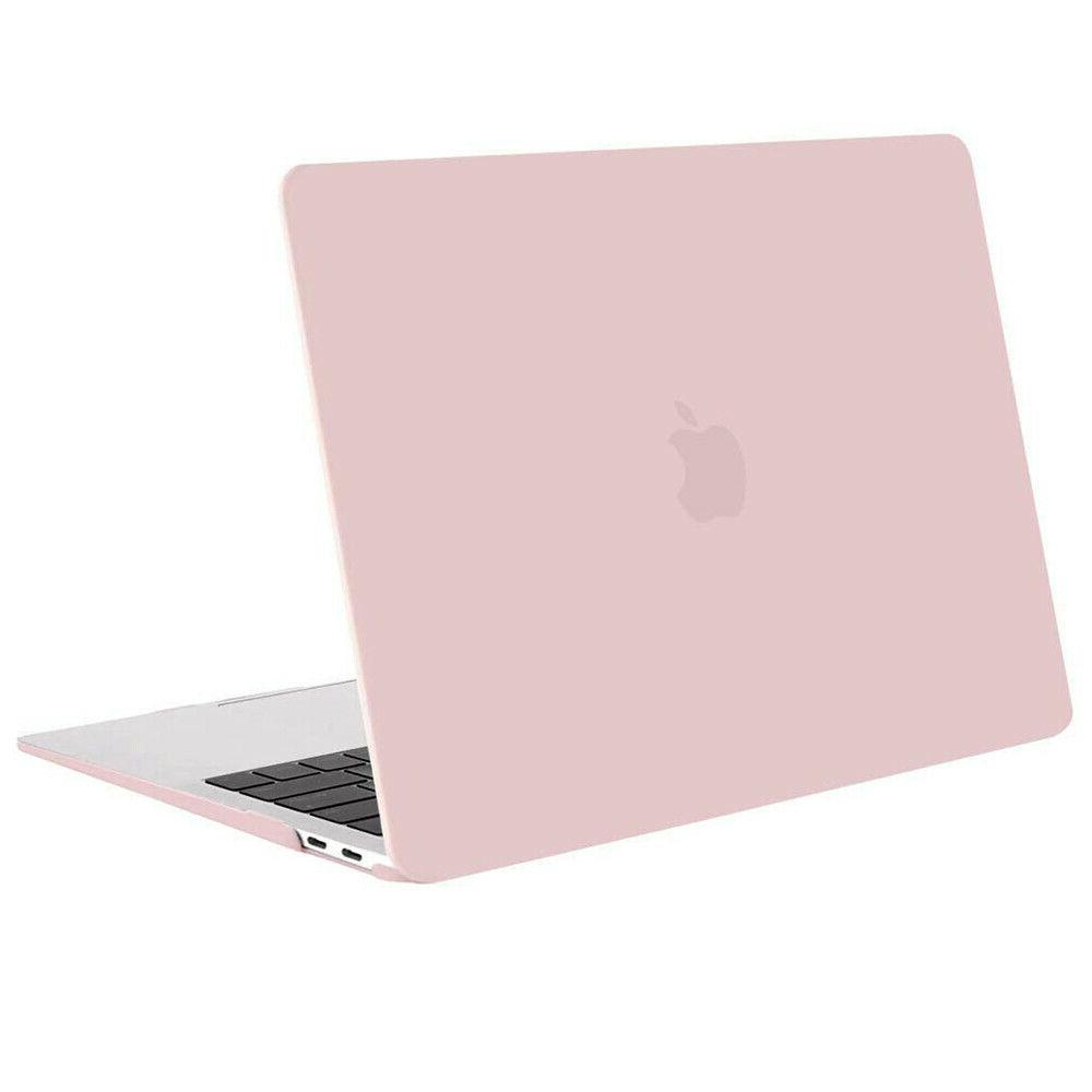Mosiso 3 in 1 Pink Hard Cover Case for Macbook Air 13 A1466/