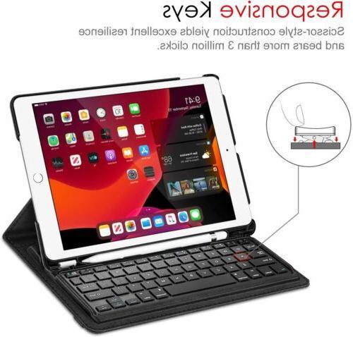 360 Rotating Keyboard Case iPad 8th 2020