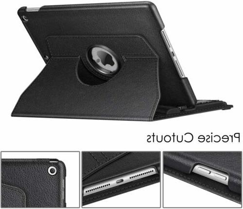 360 Wireless Keyboard Case Cover For iPad 2020