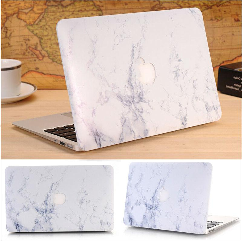 6-Color Marble Matte Case+Keyboard Cover for MacBook Air Pro