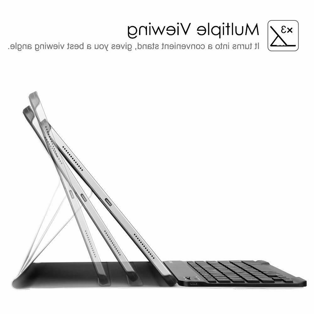 7 Colors Keyboard Pro Slim Cover