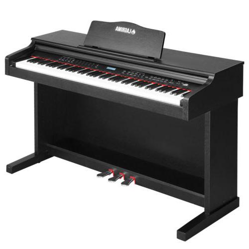 88 key electric digital lcd piano keyboard