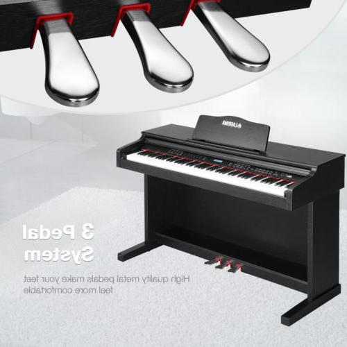 88 Digital Electric Piano Keyboard Bench Cover