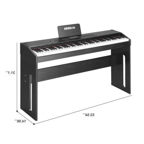 88 Key LCD Electric Keyboard