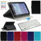 "For 9.7 ~ 10.1"" Tablet X6 Silver Bluetooth Keyboard + Univer"