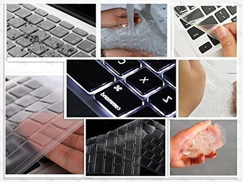"DHZ Keyboard Skin for 13"" 17"" and MacBook Air 13 2015 or"