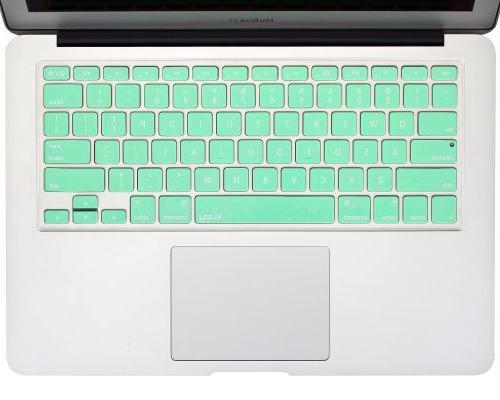 "Kuzy - GREEN Keyboard Cover for 15"" MacBook Air - Mint Green"